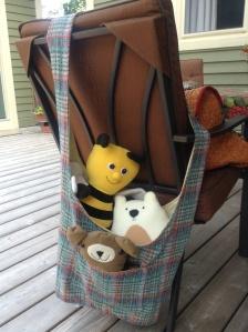 Donna's hobo bag