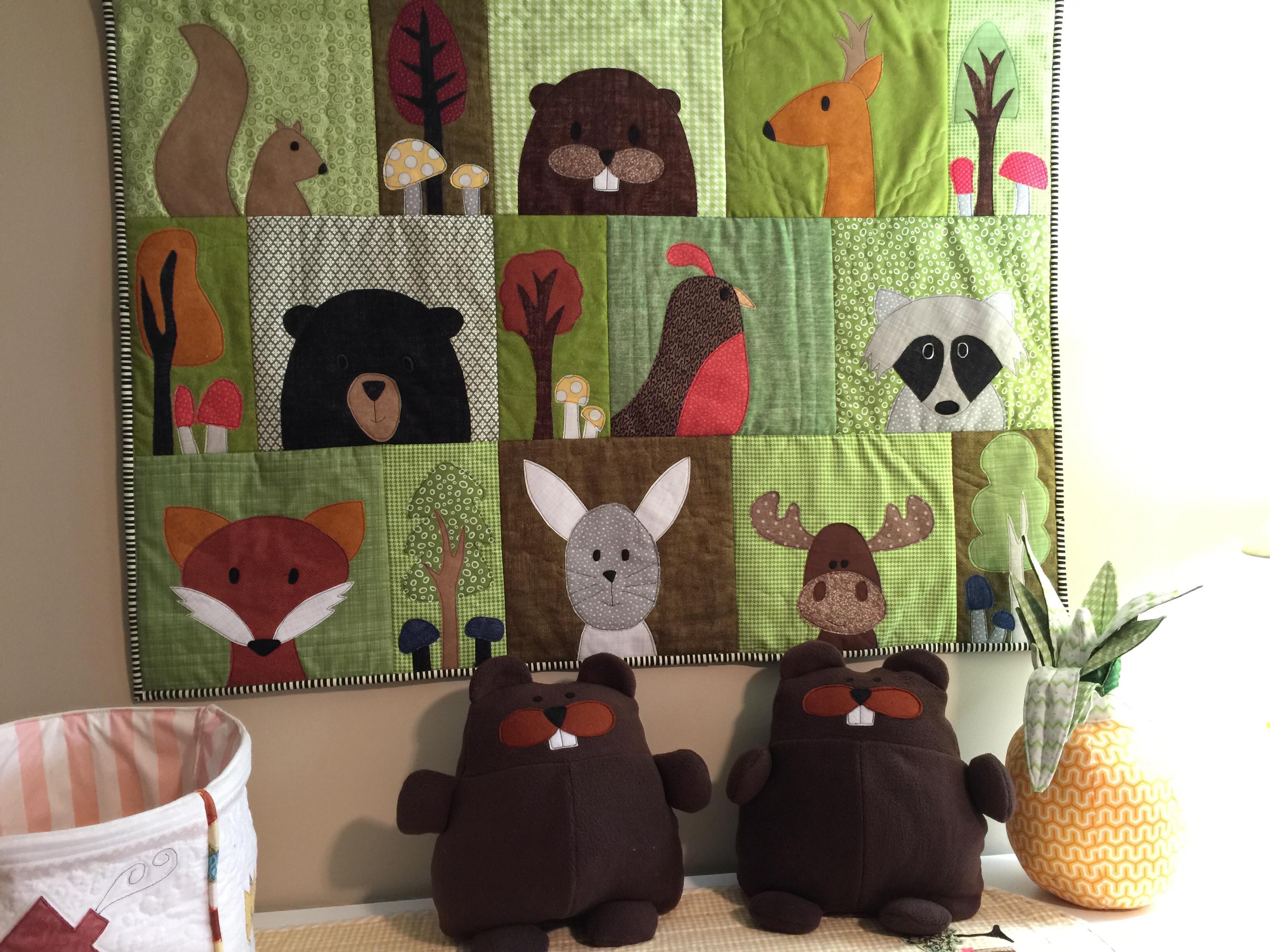 Free crochet farm animal applique patterns quilt best theme images