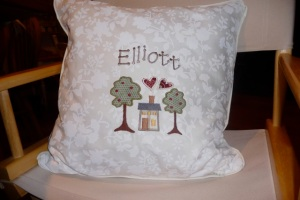 special pillow for my dear friend Jell