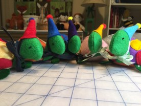 Party Turtles... tiny little friends that love to come out for any party, but especially for birthdays!